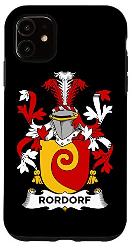 Family Crest Case Iphone 11 Rordorf Coat Of Arms