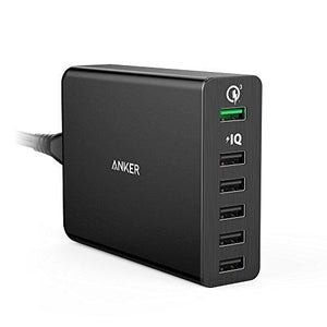 Anker Quick Charge 3.0 60W 6-Port Usb Wall Charger, Powerport+ 6
