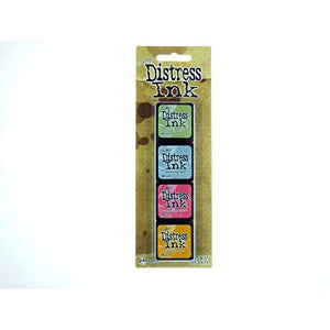 Ranger Distress Mini Ink Kit, 7