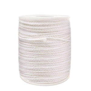 Ericx Light 24Ply/Ft Braided Wick: 200 Foot Spool.Candle Wicks For Candle Making,Candle Diy