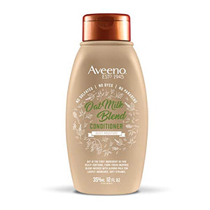Aveeno Scalp Soothing Oat Milk Blend Conditioner, Fresh, 12 Fl Oz