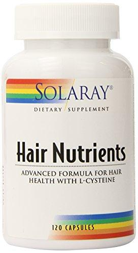 Solaray Hair Nutrients Capsules, 120 Count