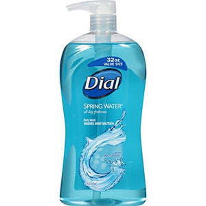 Dial Body Wash, Spring Water, 32 Fluid Ounces