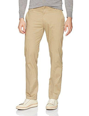 LEE Men's Performance Series Extreme Comfort Slim Pant, Taupe, 34W x 32L