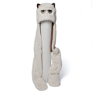 Gund 4048616 Grumpy Cat Scarf Hat Plush