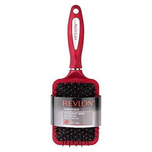 Revlon Essentials Rv2833Red1 Straight & Smooth Paddle Brush