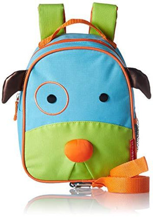 Skip Hop Toddler Leash And Harness Backpack, Zoo Collection, Dog