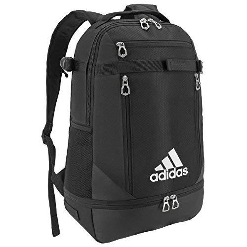 Adidas Unisex Utility Team Backpack, Black/Silver, One Size