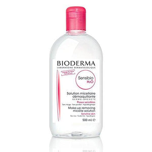Bioderma Sensibio H2O Micellar Cleansing Water And Makeup Remover Solution For Face And Eyes - 16.7 Fl. Oz.