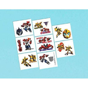 Amscan Transformers Birthday Party Temporary Tattoos - 16 Pack