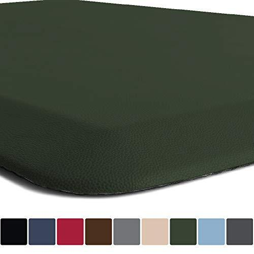 Gorilla Grip Original 34 Premium AntiFatigue Comfort Mat (32x20 Hunter Green)