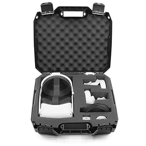 Casematix Hard Case Compatible With Oculus Quest 2 And Oculus Quest Vr Gaming Headset & Acc