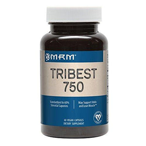 Mrm - Tribest Capsules, Enhances Libido & Lean Muscle (750 Mg, 60 Capsules)