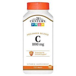 21St Century C 1000 Mg Prolonged Release Tablets, 110 Count