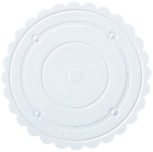 Wilton 302-7 Decorator Preferred Round Separator Plate For Cakes, 7-Inch