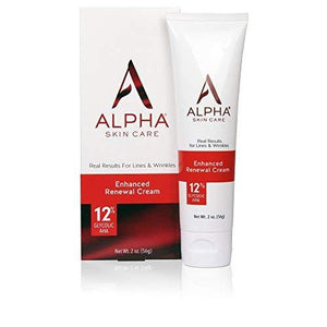Alpha Skin Care Enhanced Revitalizing Cream 12% Glycolic Aha, 2 Ounce