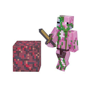 Minecraft Zombie Pigman Figure Pack
