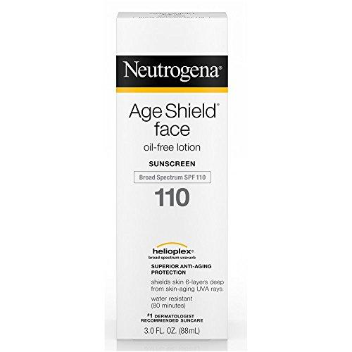 Neutrogena Age Shield Face, Sunscreen Lotion, Spf 110 3 Oz (Pack Of 4)