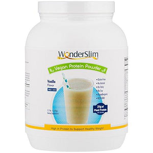 WonderSlim Vegan Protein Powder - Vanilla (2.2 lbs)