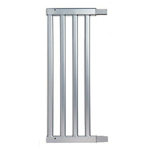 "Munchkin Baby Gate Extension For Vibe And Luna Safety Gates, Silver, 11"", Model Mksa0568"