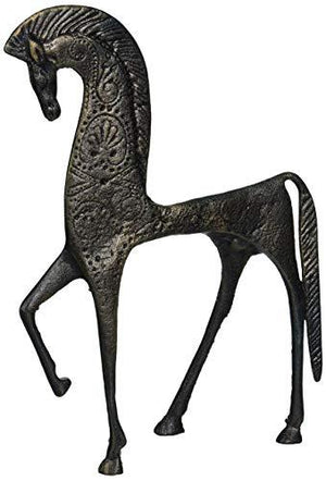Design Toscano Greek Ironwork Spartan Horse