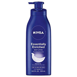 Nivea Essentially Enriched Body Lotion 16.9 Oz (Pack Of 2)