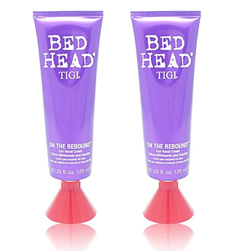 BED HEAD by Tigi ON THE REBOUND RECALL CREAM 4.22 OZ ( Package Of 2 )