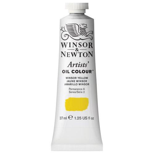Winsor & Newton Artists' Oil Colour Paint, 37Ml Tube, Winsor Yellow