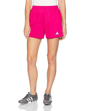 adidas Womens Parma 16 Soccer Shorts Shock PinkWhite Medium