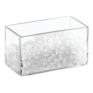 "Interdesign Bella Cosmetic Organizer With Decorative Beads - 6"", Clear"