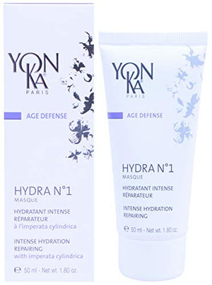 YON-KA AGE DEFENSE MASQUE NO. 1 Hydratante Intense, Reparateur (1.7 Ounce / 50 Milliliter) - Repairing Face Mask for Intense and Deep Hydration