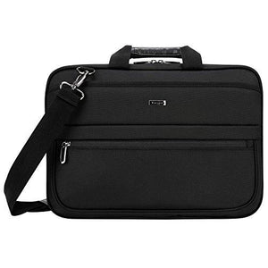 Targus Business Commuter Briefcase For 15.6 Inch Laptops, Black (Tbt266)