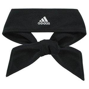 Adidas Tennie Tie Ii Hairband, Black/White, One Size