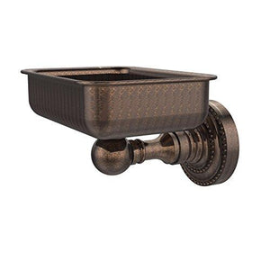Allied Brass DT-32-VB Soap Dish with Glass Liner, Venetian Bronze