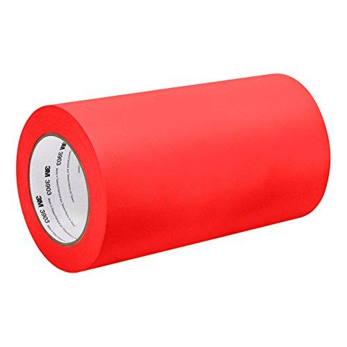 "3M 3903 9In X 50Yd Red Red Vinyl/Rubber Adhesive Duct Tape 3903, 12.6 Psi Tensile Strength, 50 Yd. Length, 9"" Width"