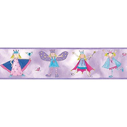 Roommates Fairy Princess Peel & Stick Border