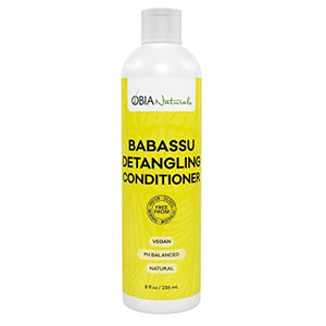 Obia Naturals Babassu Detangling Conditioner, 8 Oz