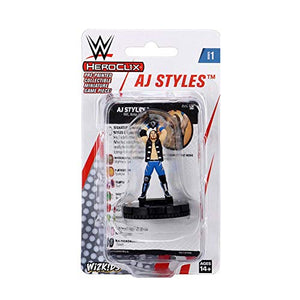 WWE AJ Styles HeroClix Expansion Pack Multi