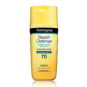 Neutrogena Beach Defense Sunscreen Lotion Broad Spectrum Spf 70, 6.7 Ounce