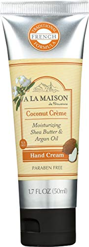 A La Maison Hand Cream, Coconut Creme, 1.7 Fluid Ounce