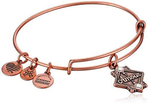 Alex And Ani Amour Ewb, Rose Gold, Expandable