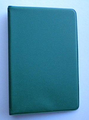 Mead 46030-Hg Mini 6-Ring Hunter Green Memo Book With 3 X 5-Inch Lined Paper