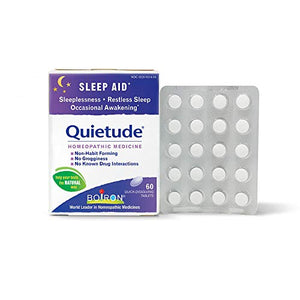 Boiron Quietude Homeopathic Medicine, Sleep Aid, 60 Count (Pack of 1)