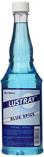 Clubman Lustray Blue Spice After Shave Lotion, 14 Fl Oz