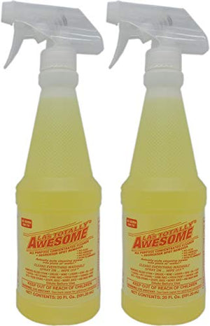 2 Pack La'S Totally Awesome All Purpose Cleaner Degreaser & Spot Remover 2 Bottles Total Of 40 Oz