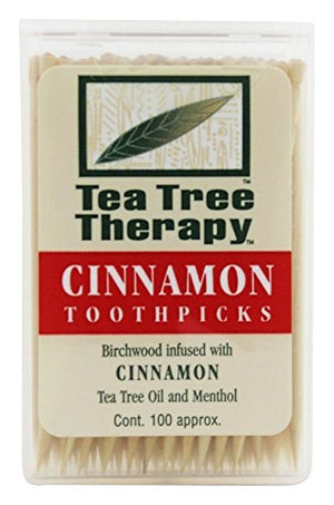 Tea Tree Therapy Cinnamon Toothpicks (1x100 CT)