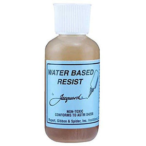 Jacquard Colorless Waterbased Resist, Clear, 2.25 Oz