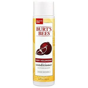 Burt's Bees Very Volumizing Pomegranate Conditioner, Sulfate-Free Conditioner - 10 Ounces