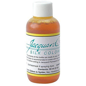 Jacquard Products Jacquard Silk Colors Dyes, 2-Ounce, Yellow