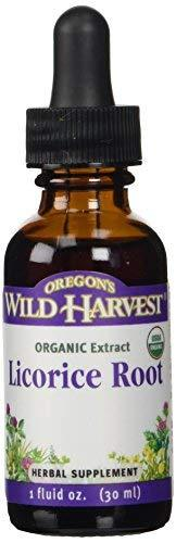 Oregon'S Wild Harvest 1:4 Organic Licorice Root Extract, 1 Fluid Ounce
